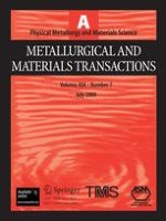 Metallurgical and Materials Transactions A 7/2009