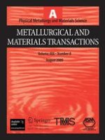 Metallurgical and Materials Transactions A 8/2009