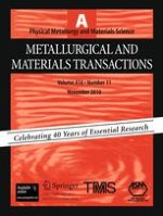 Metallurgical and Materials Transactions A 11/2010