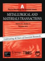 Metallurgical and Materials Transactions A 12/2010