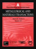Metallurgical and Materials Transactions A 12/2011