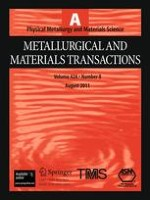 Metallurgical and Materials Transactions A 8/2011