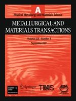 Metallurgical and Materials Transactions A 9/2011