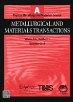 Metallurgical and Materials Transactions A 11/2012