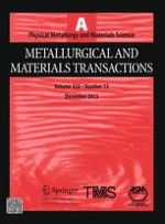 Metallurgical and Materials Transactions A 13/2012