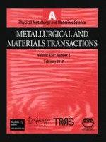 Metallurgical and Materials Transactions A 2/2012