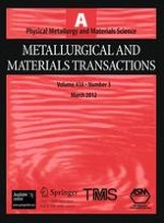 Metallurgical and Materials Transactions A 3/2012