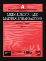 Metallurgical and Materials Transactions A 5/2012