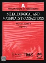 Metallurgical and Materials Transactions A 8/2012
