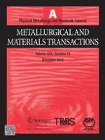 Metallurgical and Materials Transactions A 13/2013