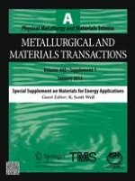Metallurgical and Materials Transactions A 1/2013