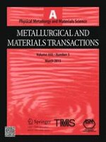 Metallurgical and Materials Transactions A 3/2013