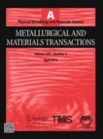 Metallurgical and Materials Transactions A 4/2013