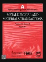 Metallurgical and Materials Transactions A 8/2013