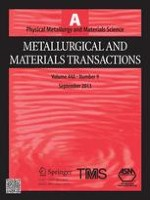 Metallurgical and Materials Transactions A 9/2013