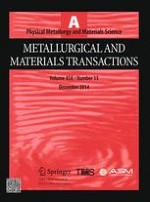 Metallurgical and Materials Transactions A 13/2014