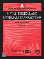 Metallurgical and Materials Transactions A 8/2014