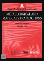 Metallurgical and Materials Transactions A 11/2015