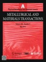 Metallurgical and Materials Transactions A 5/2015