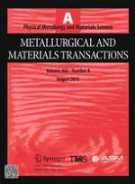 Metallurgical and Materials Transactions A 8/2015