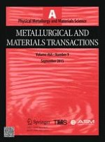 Metallurgical and Materials Transactions A 9/2015