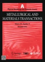 Metallurgical and Materials Transactions A 11/2016