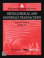 Metallurgical and Materials Transactions A 12/2016
