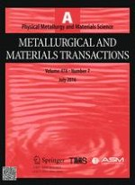 Metallurgical and Materials Transactions A 7/2016
