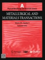 Metallurgical and Materials Transactions A 9/2016