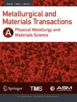Metallurgical and Materials Transactions A 3/2017