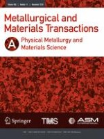 Metallurgical and Materials Transactions A 11/2018