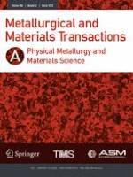 Metallurgical and Materials Transactions A 3/2018