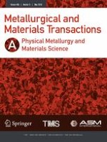 Metallurgical and Materials Transactions A 5/2018