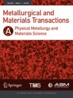 Metallurgical and Materials Transactions A 7/2018