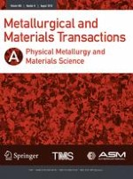 Metallurgical and Materials Transactions A 8/2018