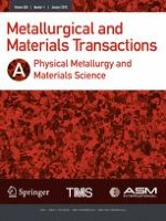 Metallurgical and Materials Transactions A 1/2019
