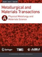 Metallurgical and Materials Transactions A 12/2019