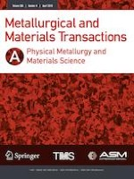 Metallurgical and Materials Transactions A 4/2019