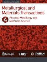 Metallurgical and Materials Transactions A 1/2020