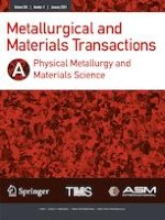 Metallurgical and Materials Transactions A 1/2021