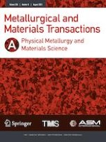 Metallurgical and Materials Transactions A 8/2021