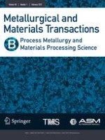 Metallurgical and Materials Transactions B 5/2003
