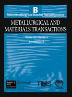 Metallurgical and Materials Transactions B 6/2011