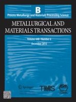 Metallurgical and Materials Transactions B 6/2013