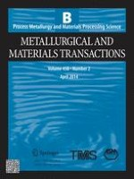Metallurgical and Materials Transactions B 2/2014