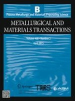 Metallurgical and Materials Transactions B 2/2015