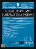 Metallurgical and Materials Transactions B 1/2016