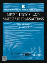 Metallurgical and Materials Transactions B 6/2016
