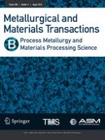 Metallurgical and Materials Transactions B 4/2018