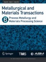 Metallurgical and Materials Transactions B 5/2018